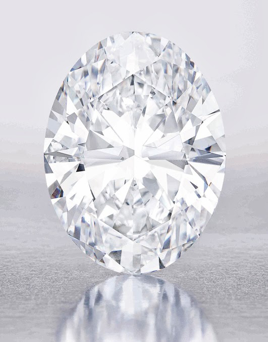 118-Carat D-Flawless Diamond • Sotheby's