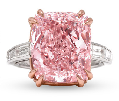 The 12.27-carat Majestic Pink Diamond