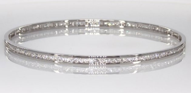 Door Prize PS GTG 2016:  Winner's Choice 1 of 3 Diamond Bracelets (Channel Bangle) from James Allen