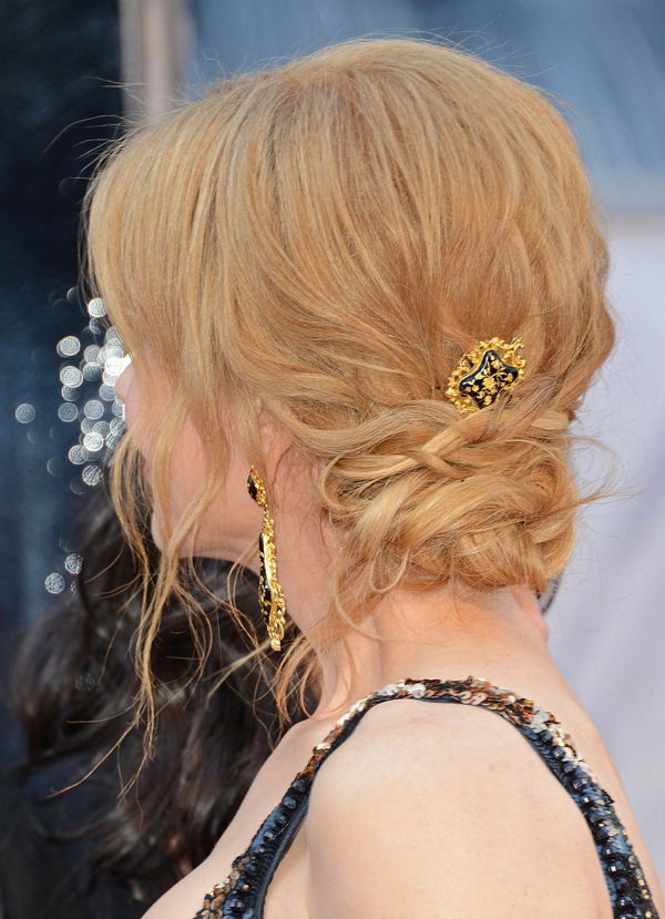 2013 Oscars Red Carpet - Nicole Kidman in Fred Leighton
