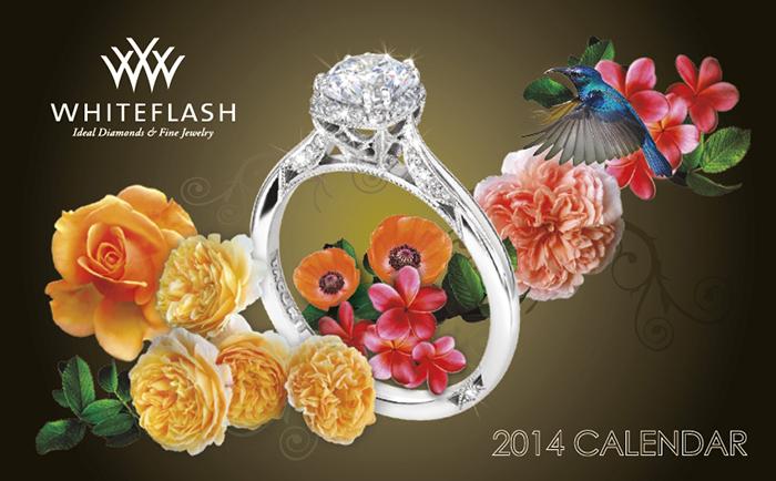 Whiteflash 2014 Jewelry Calendar