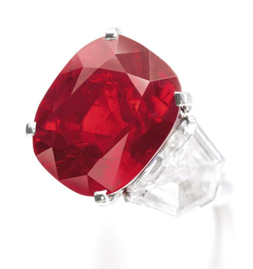 25.59-carat 'Sunrise Ruby' Sets New World Auction Records at Sotheby's Geneva