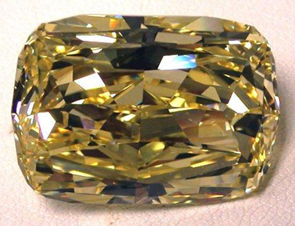 Feds to auction 43.51 carat fancy intense yellow diamond