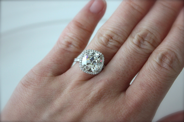 Jewel Of The Week Jaw Dropping 5 Carat Quot August Vintage