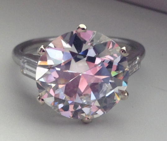 5-Carat Cartier Art Deco Diamond Ring • Image by RandG