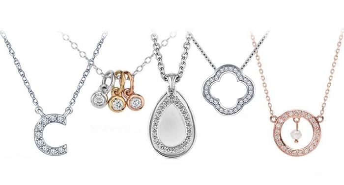 5 Petite Diamond Pendants Under $500