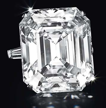 50.01-carat D-Color Diamond Ring by Graff, Christie's 2012