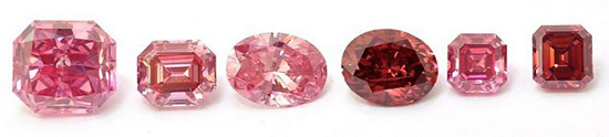 Six Pink Diamonds Won by Leibish & Co. at the Argyle Pink Diamond Tender