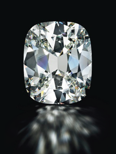 80.73-carat cushion cut diamond • Image: Christie's