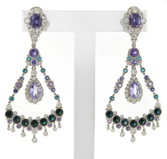 AGTA 2014 Best Use of Platinum and Color, Deirdre Featherstone