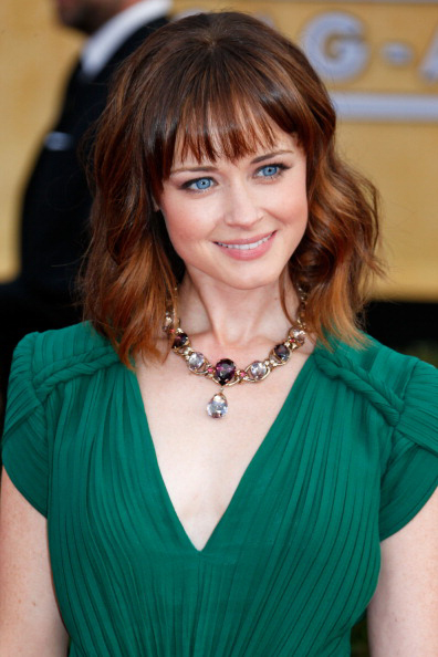 Alexis Bledel in House of Lavande at the 2013 SAG Awards