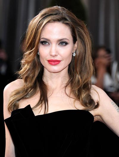 Angelina Jolie 2012 Academy Awards