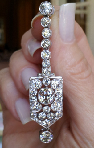 Antique Diamond Earrings Revamped