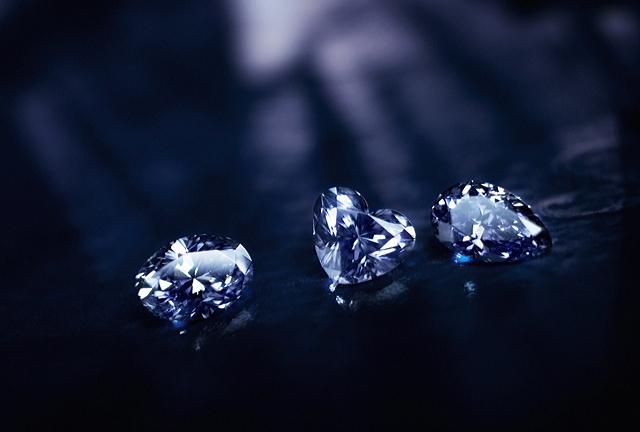 Rio Tinto 2012 Pink Diamonds Tender, blue diamonds