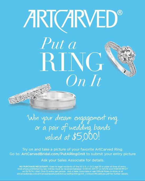 ArtCarved 'Put a Ring On It' Contest