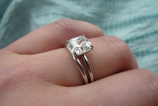 Jewel of the Week - Classic Asscher-Cut Diamond Solitaire ...