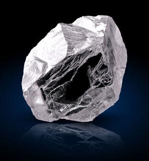 The Ekati Spirit 78 carat rough diamond