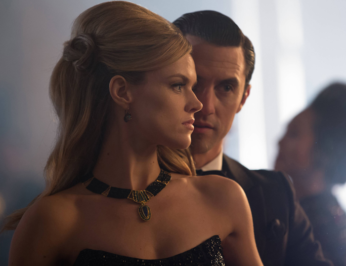 Cleo Collar by Beth Farber worn on Gotham