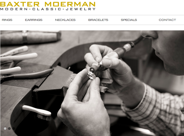 Sustainable Jewelry by Baxter Moerman