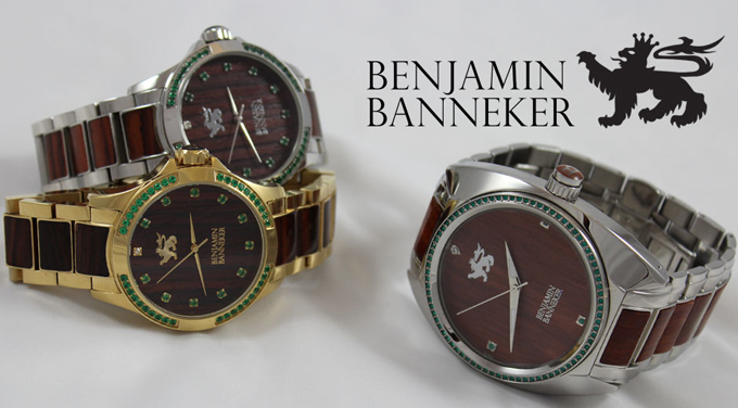 Benjamin Banneker's Diamond Empowerment Jewelry collection