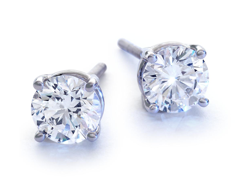Blue Nile Signature Ideal Diamond Studs