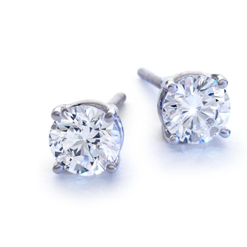 1.10-carat diamond studs from Blue Nile