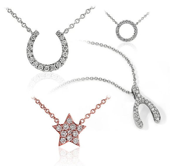 Holiday Jewelry Deals - Diamond Pendants from Blue Nile