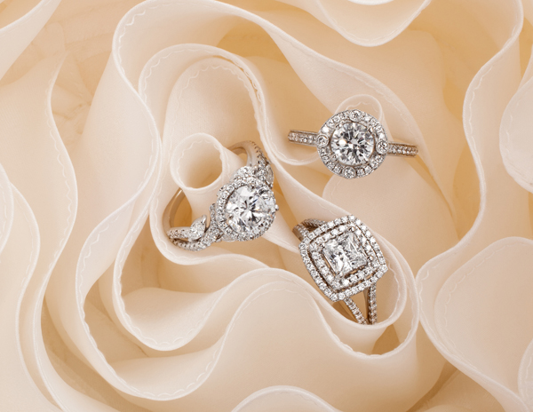 Monique Lhuillier Fine Jewelry Engagement Rings for Blue Nile
