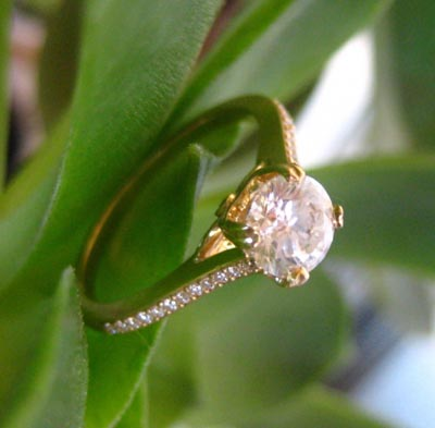 Bridget Durnell Diamond Engagement Ring