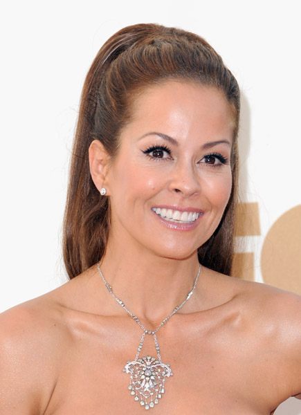 Brooke Burke at the 2011 Emmy Awards