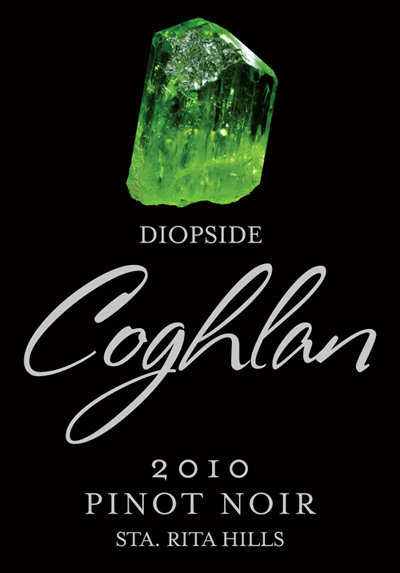 Coghlan 2010 Diopside Pinot Noir Wine Label