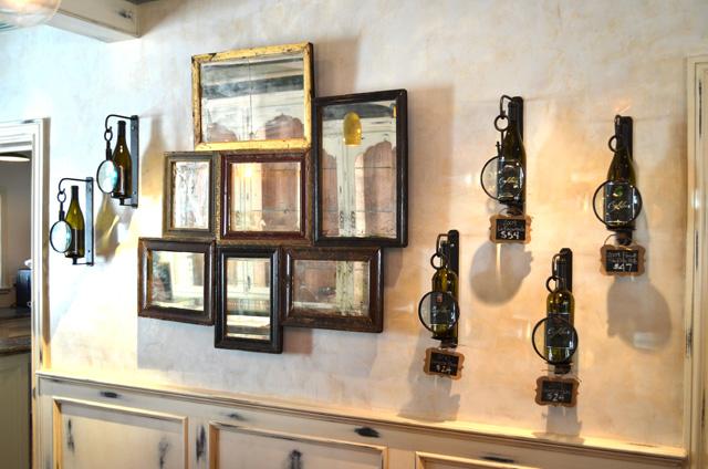 The Coghlan Vineyard wine-tasting room
