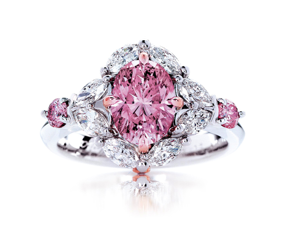 Calleija My Fair Lady Pink Diamond Ring