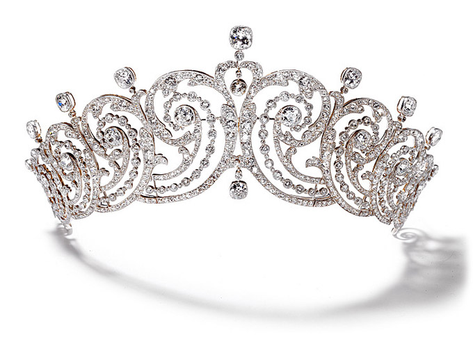 Cartier Foliates Tiara made for the Countess of Essex in 1902