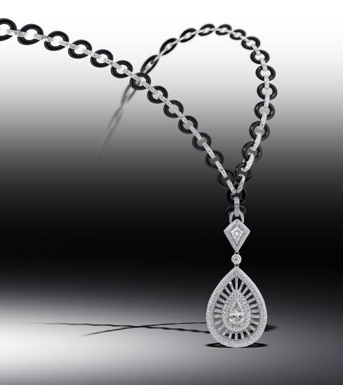 Centurion Design Awards 2014 - Siera Diamond and onyx necklace