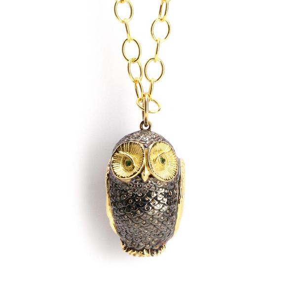 Centurion Design Awards 2014 - Syna owl pendant