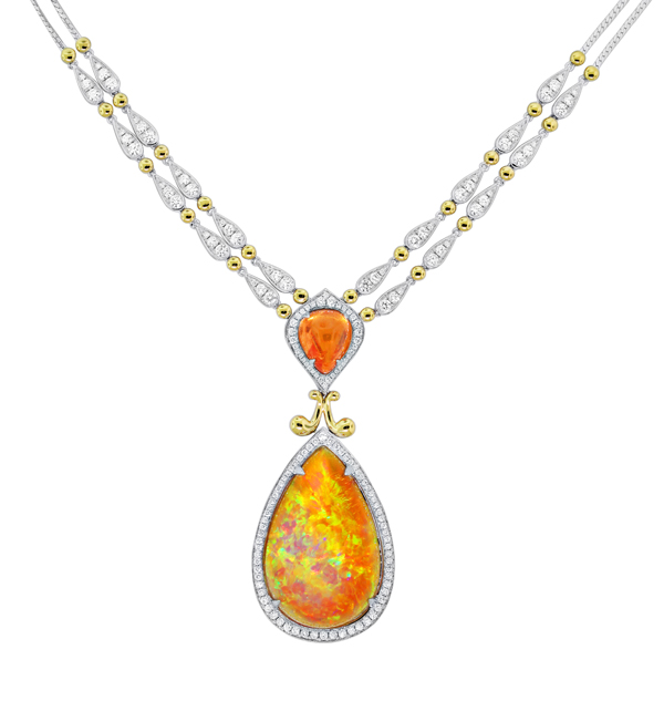 Centurion Design Awards 2014 - Spark Creations opal necklace