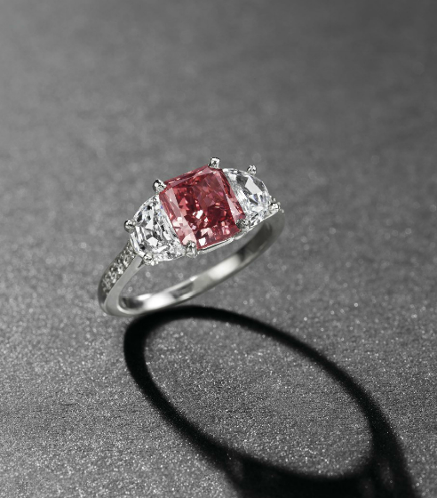 1.92-carat fancy red diamond ring, Christie's Geneva