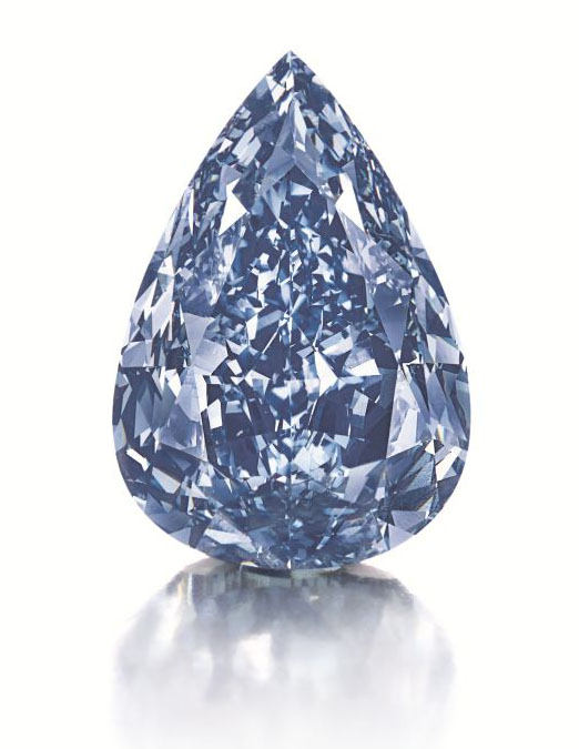 Winston Blue Diamond • Christie's