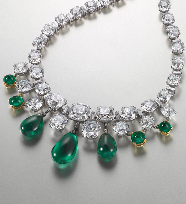 Exceptional emerald and diamond necklace by Boucheron, Christie's Hong Kong