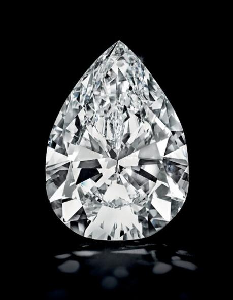 89.23-carat D-color, Type IIa diamond • Image: Christie's