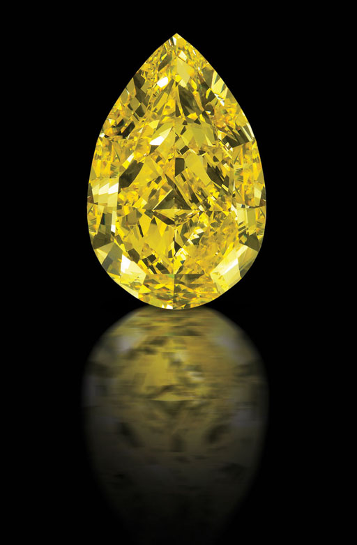 110 carat The Cora Sun Drop Diamond