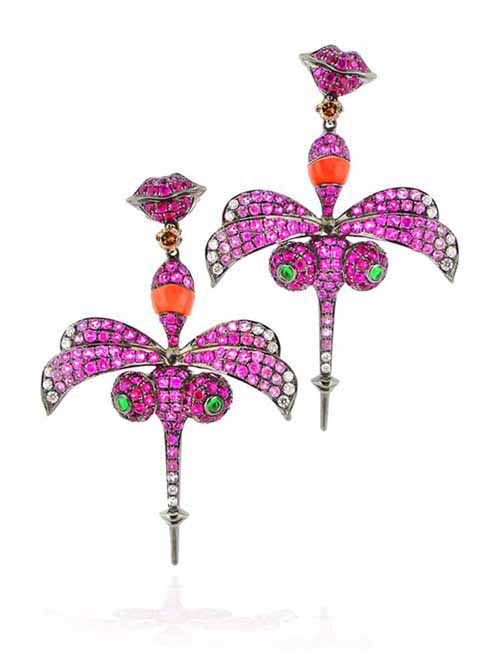 Wendy Yue • Ito Mosca Collection earrings