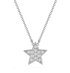 Dana Rebecca Designs Julianne Himiko diamond star necklace