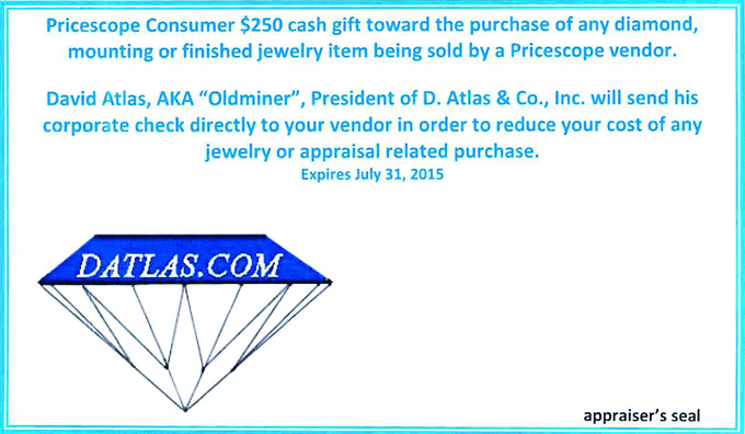 Gift Certificate from D. Atlas & Co.