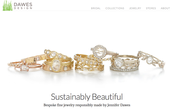 Sustainable Jewelry by Dawes Design