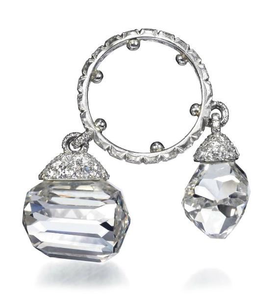 JAR diamond charm ring