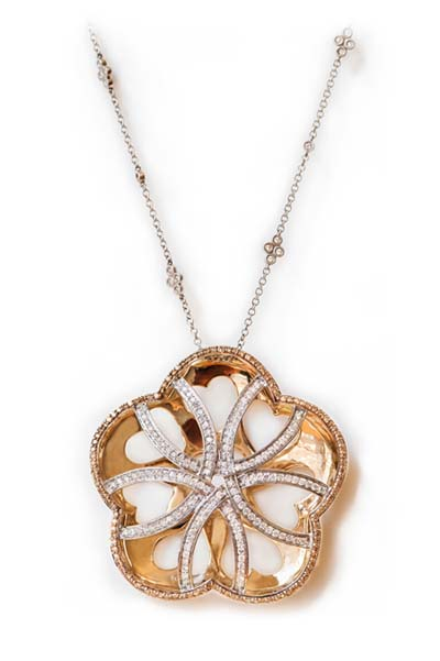 Diamond Necklace from Rio Tinto Sustainable Jewellery Collection, Nature's Beauty