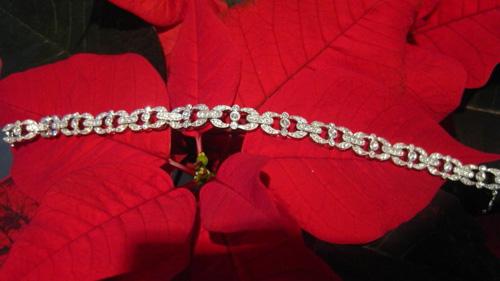 Deco Style Diamond Bracelet