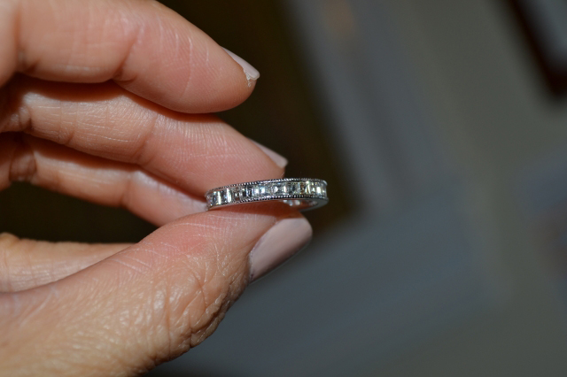 LLJsmom's diamond eternity band